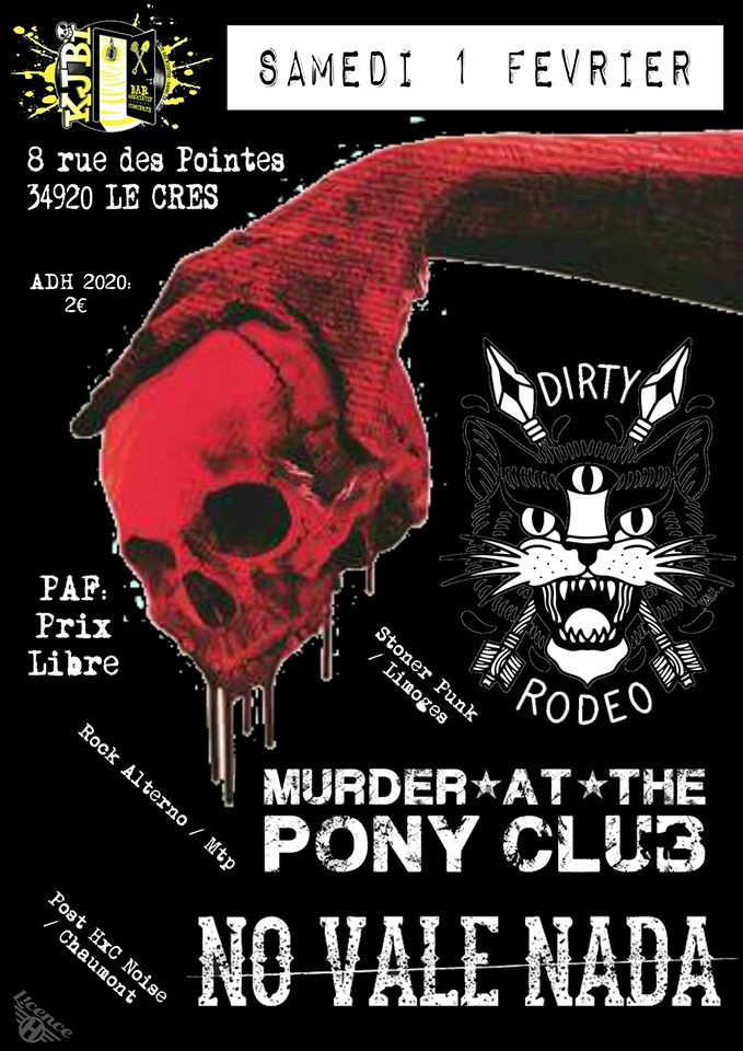 No Vale Nada /Dirty Rodeo /Murder at the Poney Club